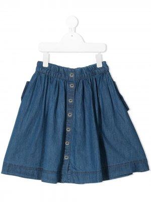 Джинсовая юбка Molo. Цвет: синий