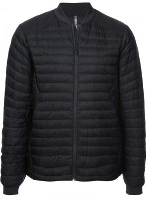 Padded bomber jacket Arc'teryx Veilance. Цвет: черный