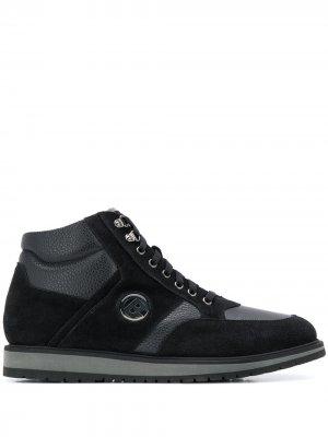 Высокие кроссовки Walking Baldinini. Цвет: черный