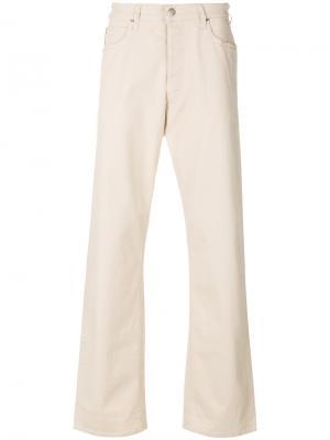 Расклешенные джинсы свободного кроя Armani Jeans. Цвет: нейтральные цвета