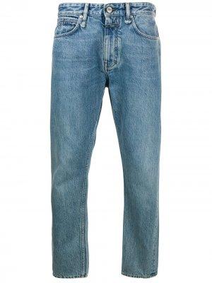 Зауженные джинсы Cooper Closed. Цвет: синий