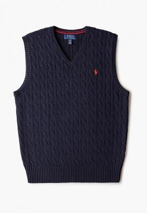 Жилет Polo Ralph Lauren. Цвет: синий