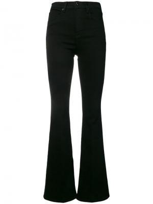 Расклешенные джинсы Bella Rag & Bone. Цвет: черный