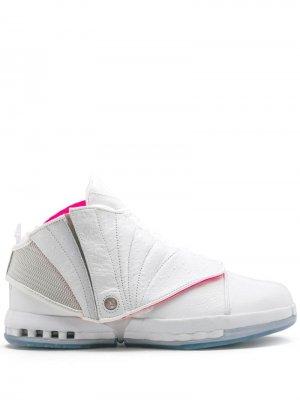 Кроссовки Air  16 Retro Solefly Jordan. Цвет: белый