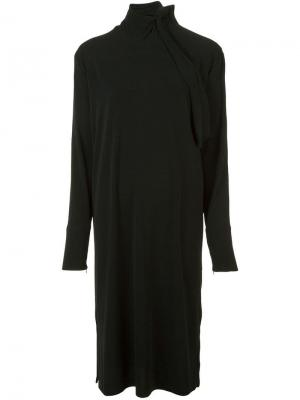 Платье Gulia By Malene Birger. Цвет: черный