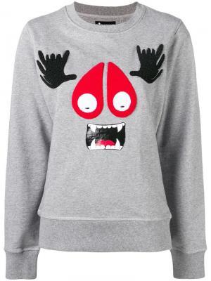 Munster sweatshirt Moose Knuckles. Цвет: серый