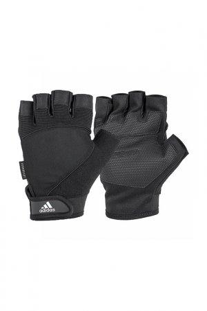 Перчатки для фитнеса ADIDAS. Цвет: черный