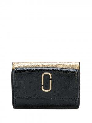 Мини-бумажник Snapshot Marc Jacobs. Цвет: черный