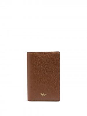 Обложка для паспорта Mulberry. Цвет: коричневый