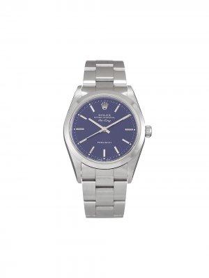Наручные часы Air-King Precision pre-owned 34 мм 1998-го года Rolex. Цвет: черный