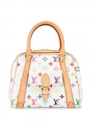 Сумка Priscilla pre-owned 2006-го года Louis Vuitton. Цвет: белый