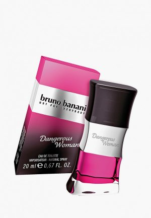 Туалетная вода Bruno Banani. Цвет: розовый