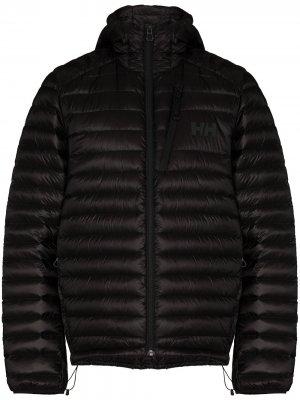 Лыжная куртка Helly Hansen. Цвет: черный
